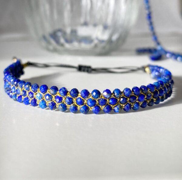 Bransoletka GALAXY z lapis lazuli